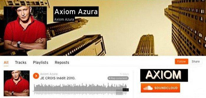 AXIOM SUR LES RESEAUX SOCIAUX / SITES /