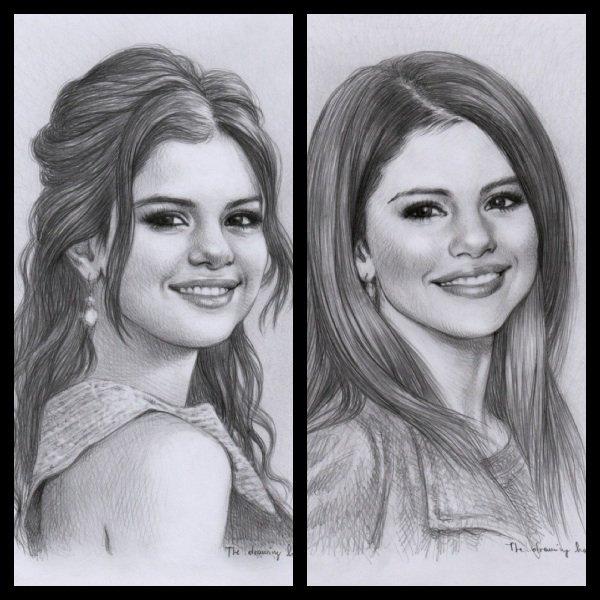 Dessin Selena Gomez Et Justin Bieber - Selena Gomez Instagram