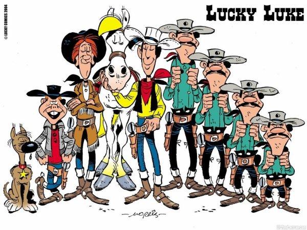 Wallpapers Lucky Luke: