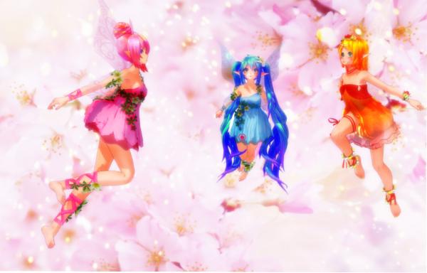MMD Photo : les 3 fées