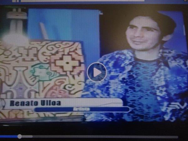 Interview de Renato Reul Ulloa - Artiste Equatorien