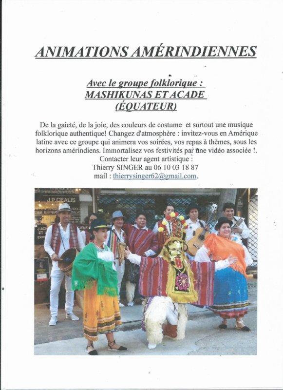Groupe folklorique équatorien - MACHIKUNAS