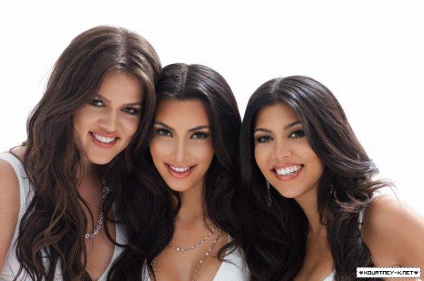 Ce sont les 3 soeurs Kardashian dans toutes leurs splendeurs !