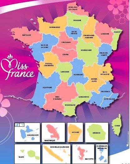 MISS FRANCE INTERNET 2012