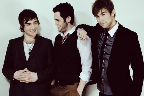 Chuck Bass, Dan Humphrey and Nate Archibald .. Or Ed Westwick, Penn Badgley and Chace Crawford ?