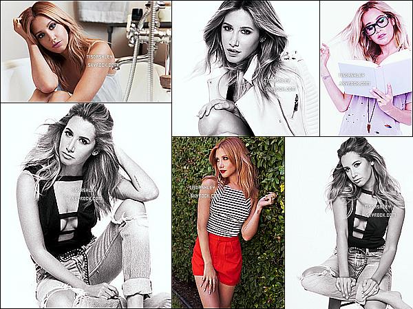 *  Découvrez de nouvelles photos d'Ashley  pour son site web « TheHauteMess.com » !   *