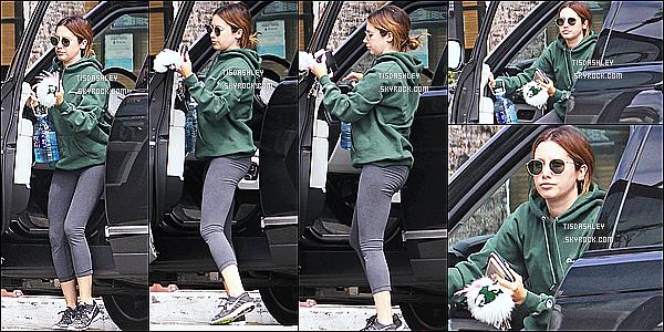 * 15/05/17 : Ashley T. a été aperçue alors qu'elle se rendait à une salle de sport - dans les rues de Los Angeles. C'est dommage qu'il n'y ait pas beaucoup de photos disponibles. Ashly est superbe. Elle porte une tenue de sport simple mais que j'aime bien. Top.  *