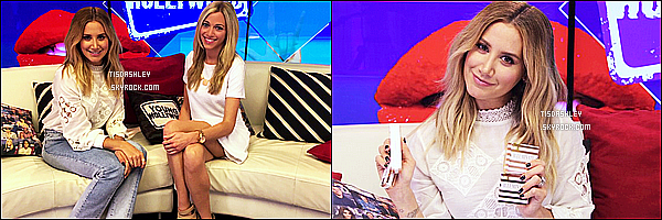 * 31/05/16 : Ashley a donné une interview sur le plateau de l'émission « Young Hollywood » - à Universal City. Dommage qu'il n'y ai seulement deux photos disponiles. Ashley est ravisssante. Elle porte la même tenue que précédemment, c'est toujours un Top  *
