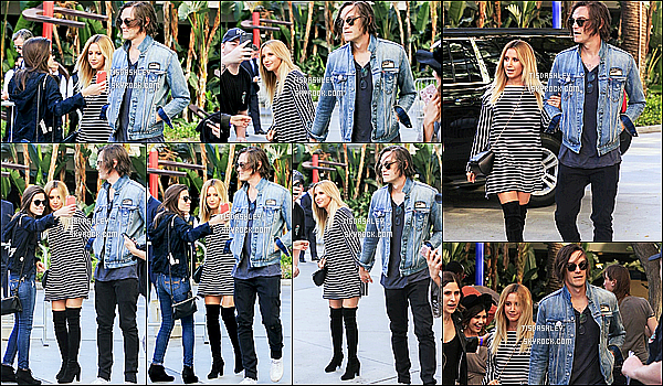 * 08/07/16 : Ashley était au concert de Selena Gomez pour le « Revival Tour » au Staples Center de Los Angeles. Ashley était accompagnée de son mari Christopher et a rencontré sa meilleure amie Vanessa Hudgens à la sortie du concert. Ashley est jolie - Top !  *