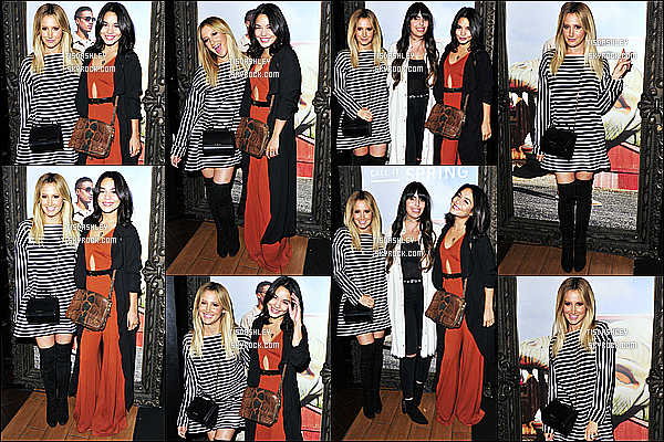 *  Voici un photocall d'Ashley T pris lors du concert « Revival Tour »  de Selena Gomez !  *