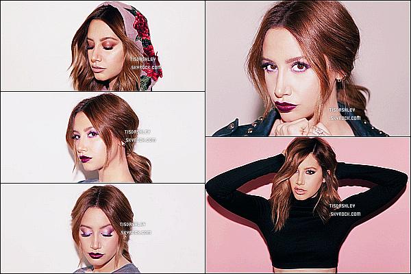 *  Découvrez un photoshoot d'Ashley fait par Elias Tahan pour la « Goddess Palette »  !  *