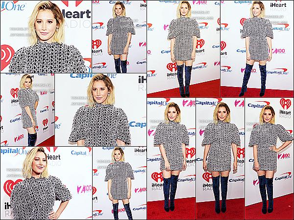 * 07/12/18 :    Ashley a assisté à l'événement « Z100's Jingle Ball 2018 » au Madison Square Garden - dans New York. Ashley T. était vraiment magnifique. Je suis fan de sa coiffure et de son maquillage.La tenue qu'elle porte est très jolie aussi. C'est un beau Top pour moi.  *