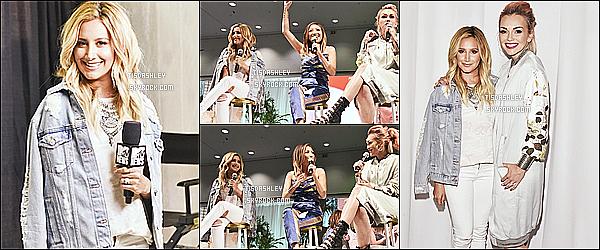 * 09/07/16 : Ashley T. a assisté à l'événement « 4th Annual Beautycon Festival  » qui avait lieu à Los Angeles. Ashley Tisdale était vraiment magnifique. J'aime beaucoup la tenue blanche qu'elle porte même si c'est plutôt basique. C'est donc un Top pour moi.  *