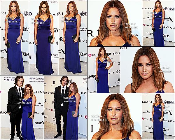 * 26/02/17 : Ashley T. a assisté au «  Elton John AIDS Foundation's Academy Awards Viewing Party ». Ashley était vraiment magnifique. Sa robe bleue est sublime lui va à merveille. Je suis fan de sa coiffure et de son maquillage. Donc Top pour moi.  *