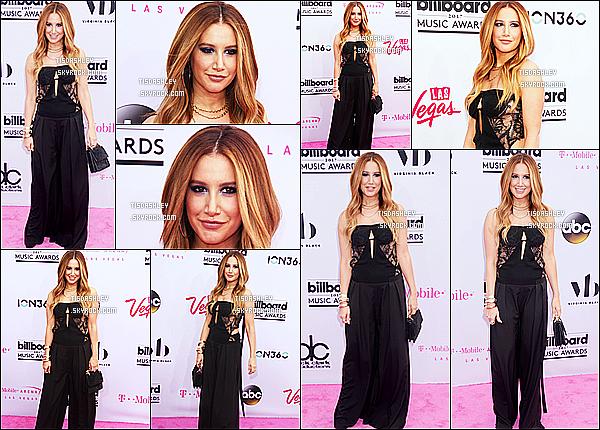 * 21/05/17 : Ashley T. a assisté à la cérémonie des « Billboard Music Awards »  - qui avaient lieu à Las Vegas. Ashley a posé au côté de Lea Michele. Ashley est resplendissante. Je suis fan de sa coiffure et de son maquillage. Sa tenue est jolie. C'est un Top !  *