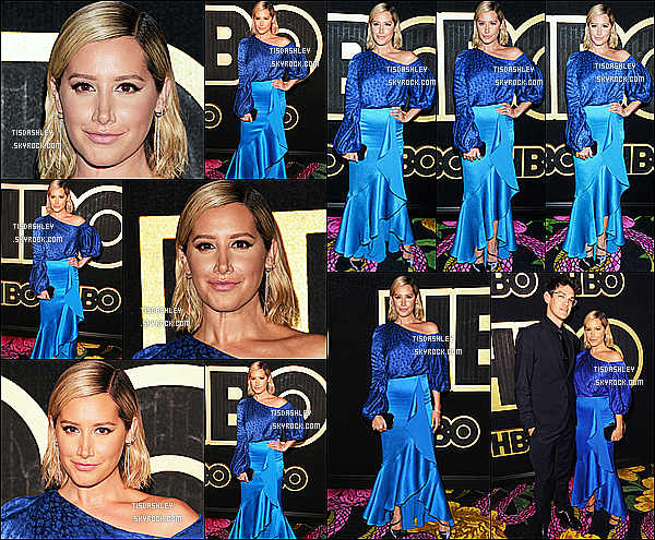 * 17/09/18 :    Ashley était présente lors de l'événement « HBO's Post Emmy Awards Reception », dans Los Angeles. Ashley est belle mais je ne suis pas fan de sa coiffure. En revanche le maquillage est jolie. Je n'aime pas non plus la tenue qu'elle porte, un Flop pour moi  *