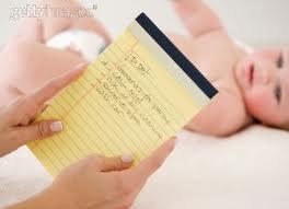 Liste des achats pour bébé - Budget