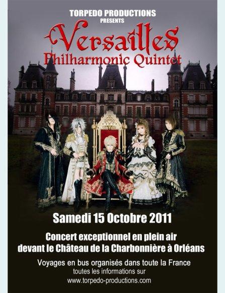 Versailles : concert filmé devant un château à Orléans