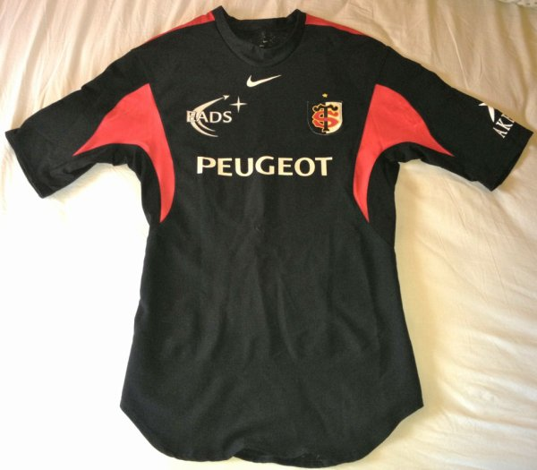 maillot du stade toulousain port par florian fritz au cours de la saison 2004 2005 ou 2005 2006. Black Bedroom Furniture Sets. Home Design Ideas