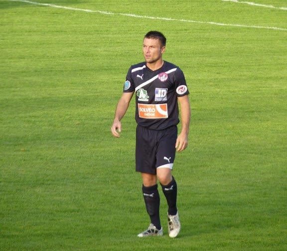 Maillot de Luzenac porté par Christophe Rollet au cours de la saison 2012-2013 de National