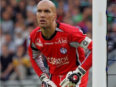 Maillot de Toulouse porté par Christope Revault au cours de la saison 2002-2003 de Ligue 2