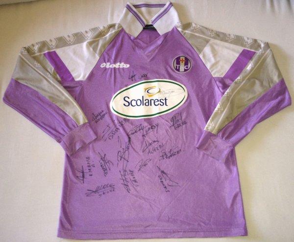 Maillot d'entrainement de Toulouse porté par Thibault Giresse au cours de la saison 2002-2003 de Ligue 2