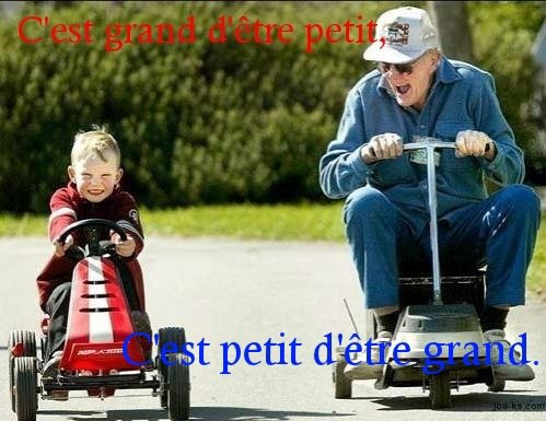Petit > Grand