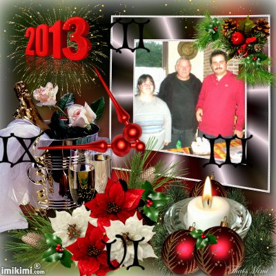 cc mes amies et amis ont vous souhaite plein de bonne chose pour l'an 2013