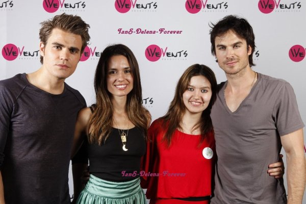 Ian a la convention de paris