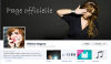 Mesdemoiselles sont sur Facebook & Twitter.. ! ♥