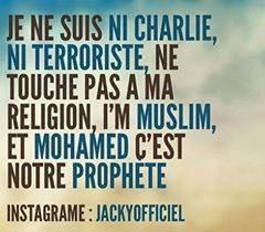 je suis un homme muslem , et je suis contre le terrorisme
