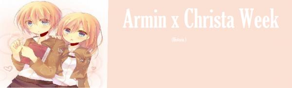 Armin x Christa week