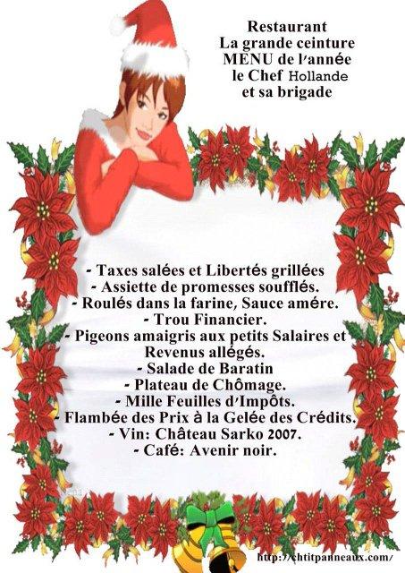 Menu De Noel Grand Chef.Voici Le Menu De Noel 2012 Pour Beaucoup De Francais