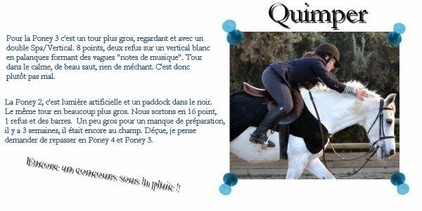 UCPA - Quimper P2 ~ P3