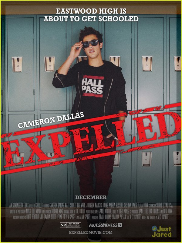 EXPELLED - le film avec Cameron Dallas!