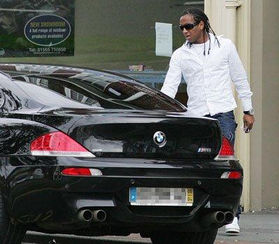 La classe de Anderson Luis en BMW