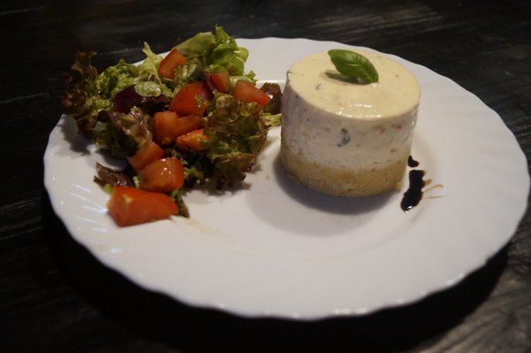 cheesecake au fromage de chèvre