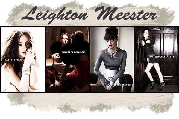Photoshoot de Leighton Meester + Blake Lively Pour  Elle