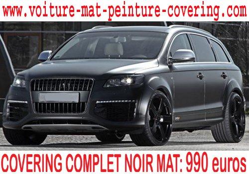 Articles de voiture star foot rap tagg s peinture covering noir mat page 3 total covering - Repeindre une porte de voiture ...