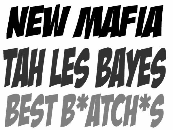 TAH LES BAYES VOL.1 / **NEW MAFIA** LA ROUTE EST LONGUE - DEMSABOYZ FEAT ATANNASS (2011)
