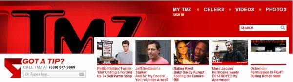 Mark Foster pour TMZ.