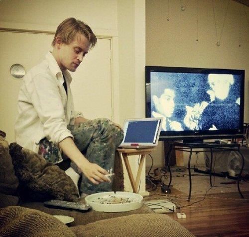 Nouvelle photos de Macaulay en ligne !