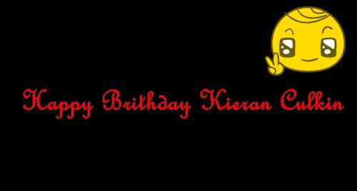 "Article spécial ""Birthday Kieran Culkin"""