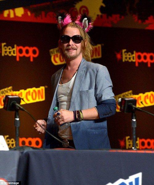 """Macaulay de retour à NYC pour le """"NYC comic con 2013"""""""