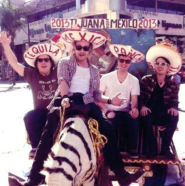 Mac en vacance au MEXIQUE