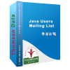 Get 15% off on Java Users Email list - Java Companies List - Thomson Data