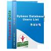 SYBASE DBMS Users List - SYBASE Clients List - Thomson Data