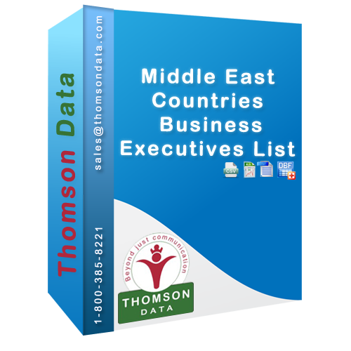 Get 10% off on Middle Eastern Business Executives List