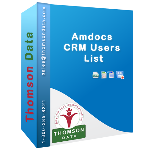 Acquire the best Amdocs CRM Users Lists from Thomson Data