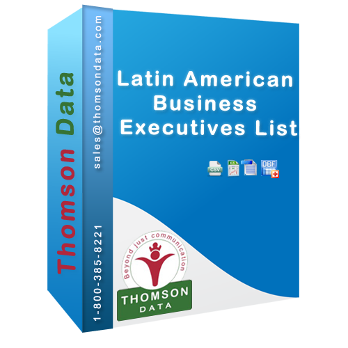 Get the most up-to-date Latin American Business Executives Mailing List